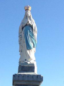 ルルドの聖母マリア像